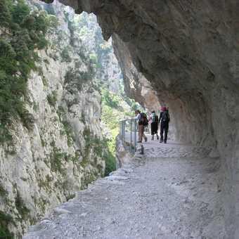 Cares Gorge path again