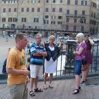 Rudy's pep talk in Siena