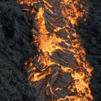 Close-up lava