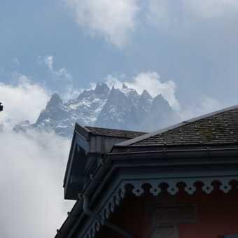 Climbers on Mont Blanc