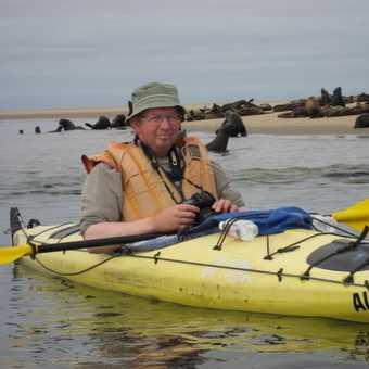 Kayaking at Walvis Bay