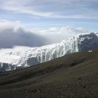glaciers on kilimanjaro