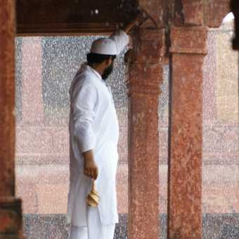 Monsoon in the Deserted City
