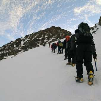 Respect and Careful Crampon Placements