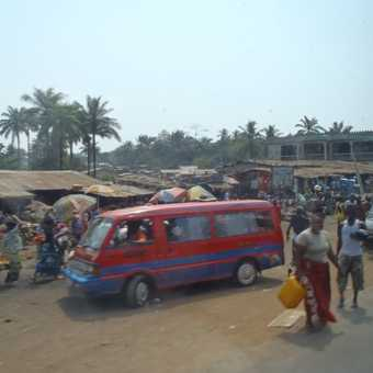 Taken from our bus as we travelled through Sierra Leone