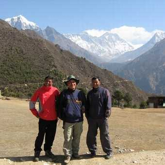 Leader Keshar (centre) with Sukman (left) and Uber (right) These 3 guys where brilliant.