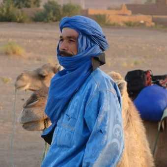 Bedouin Chap - Sahara Desert