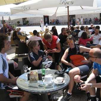 Coffee at Hvar Town