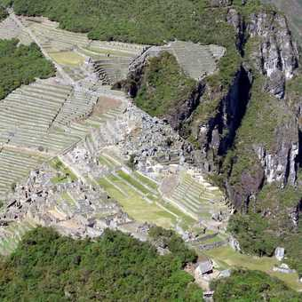 view from winay picchu