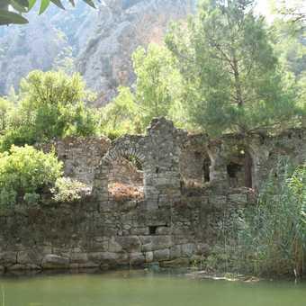 ruins at olympos