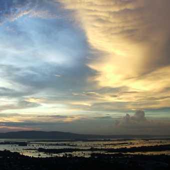 The longest teak bridge in the world, Thaungtharman Lake, Mandalay