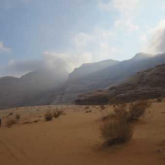 Cloudy - Wadi Rum