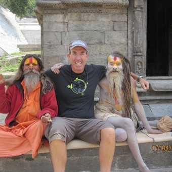 Making freinds in Kathmandu is easy