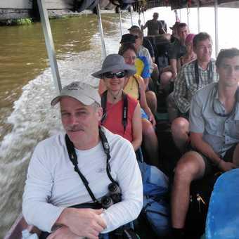 Boat to Tortuguero