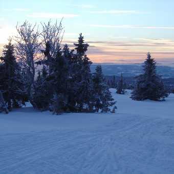 Sunset over Nordseter