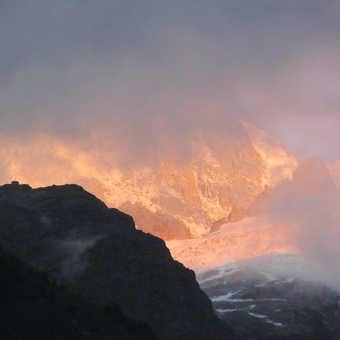 Neil Pittaway Bosson  Glacier near Chamonix