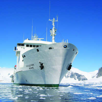 Akademik Ioffe, ice-rated ships, Polar regions