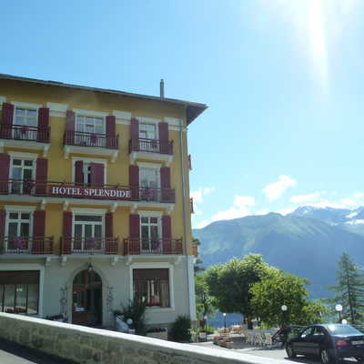 Hotel Splendid in Champex