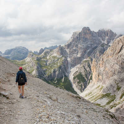 Optional day walk in the Dolomites