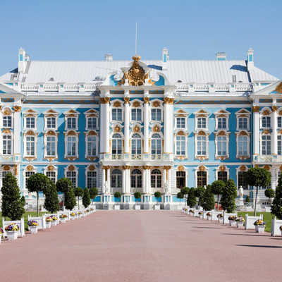 Catherine's Palace at Pushkin, St Petersburg