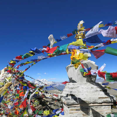 Prayer flags, Nepal