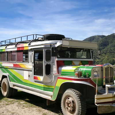 Colourful jeepney, the Philippines