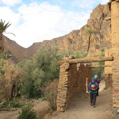 Traditional villages in the Anti-Atlas Mountains