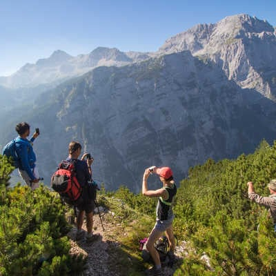 High in the Julian Alps