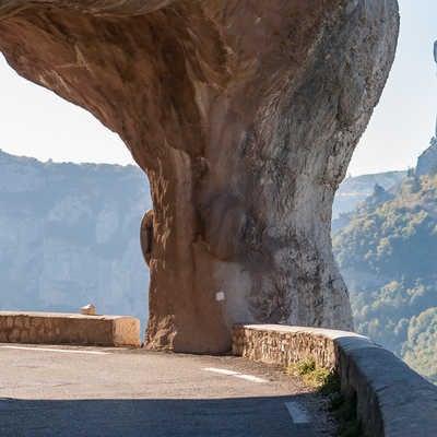 Cycling in the Gorges de la Nesque