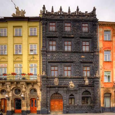 Architecture of Lviv. Ukraine.