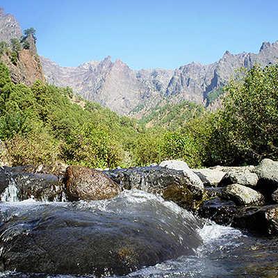 Valley in La Palma