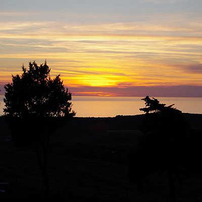 Sunset from Villa Asfodeli
