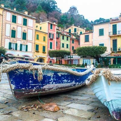 Boats in Portofino