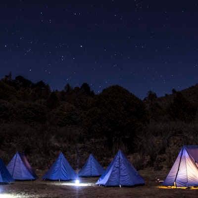 Campsite in Bhutan