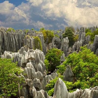 Shi Lin Stone Forest, Yunnan Province