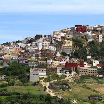 Holy town of Moulay Idriss