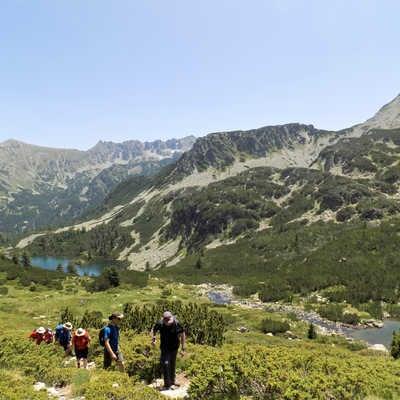 The Todrina Pass, Rodopi Mountains
