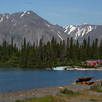 Kluane National Park in Yukon Territory.
