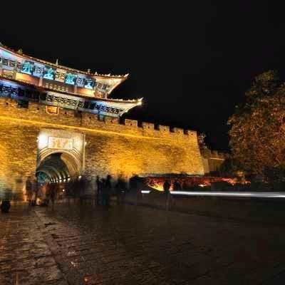 Dali street scene, Yunnan