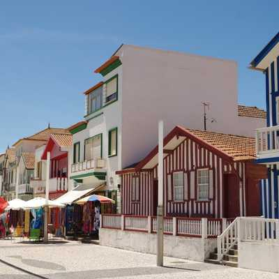 Painted houses, Aveiro