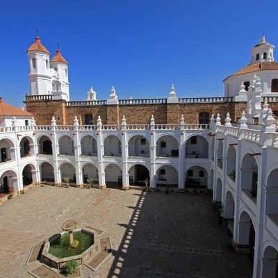 The Church of San Felipe Neri, Sucre, Bolivia