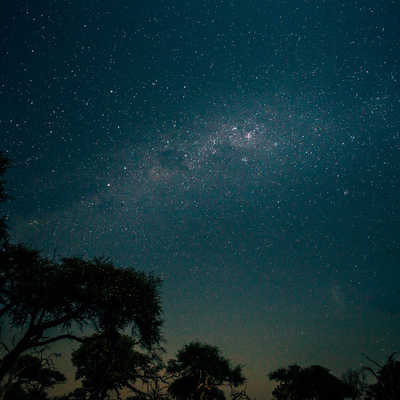 Milky-way above Moremi