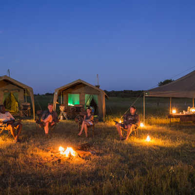 Wild Camp on Wild Botswana