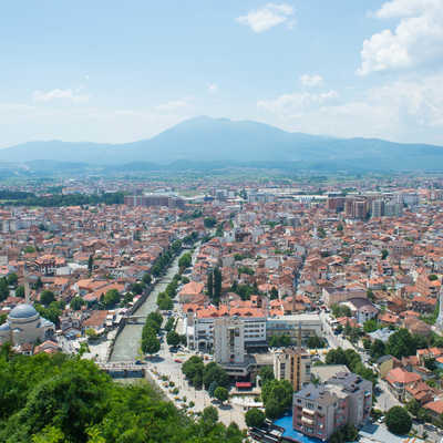 View from the fortress, Prizren, Kosovo