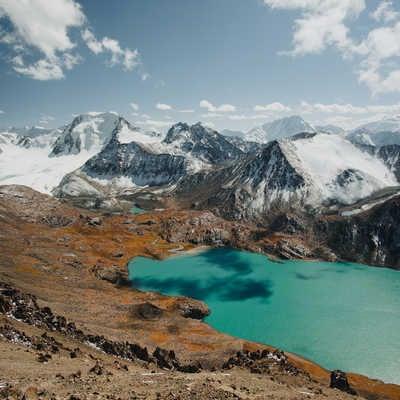 Ala-Kul Lake, Terskey Ala-Too Range, Kyrgyzstan