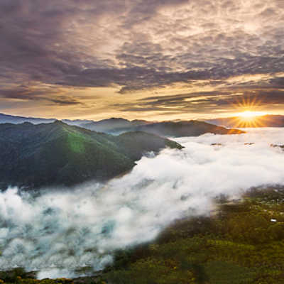Kiltepan Peak of Sagada, Luzon, Philippines