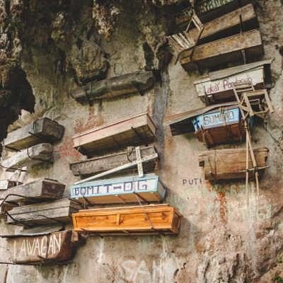 Hanging coffins in Sagada, north Luzon, Philippines