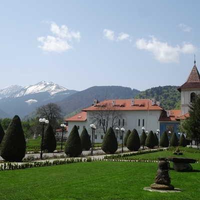 The Monastery at Manastirea