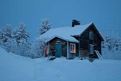 Cabin near Muonio