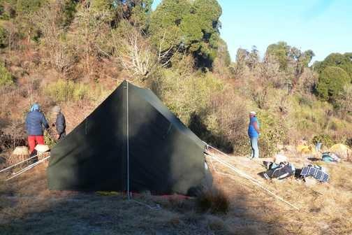 Achillay Campsite, India